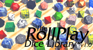 RollPlay Dice Library